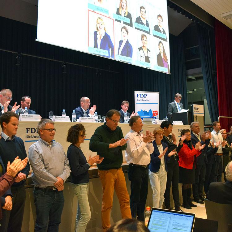 FDP verdankt grosses Engagement bei nationalen Wahlen